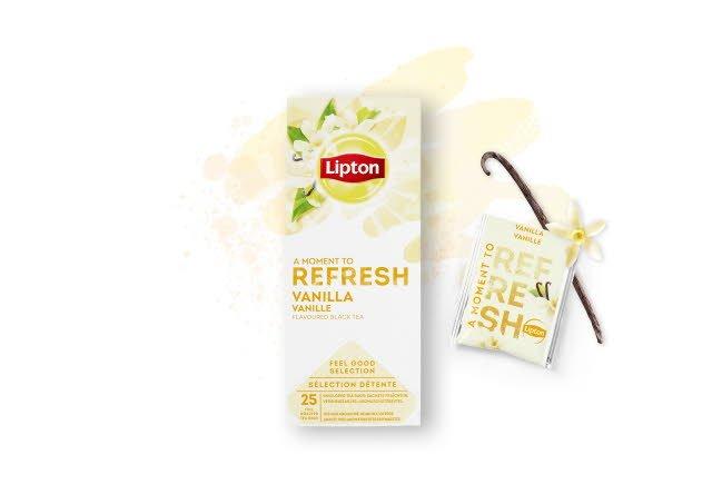 Lipton Vanilla Tea, 6 x 25 breve