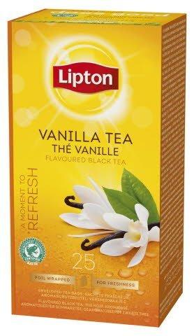 Lipton Vanilla Tea, Classic te, 6 x 25 breve