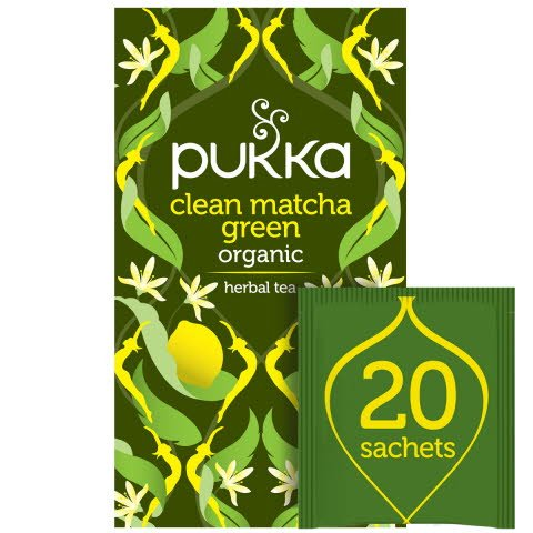Pukka Clean Matcha Green ØKO 4x20 breve