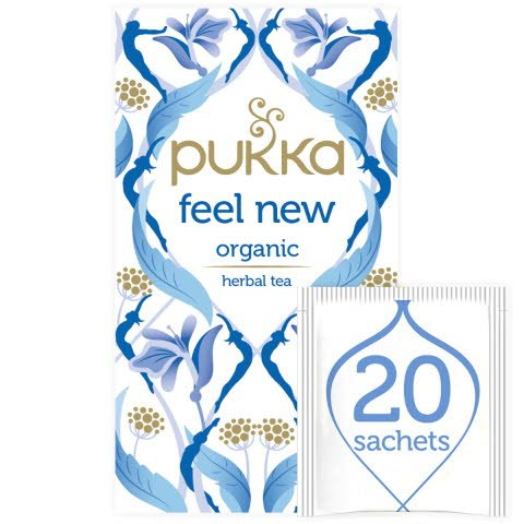 Pukka Feel New ØKO 4x20 breve -