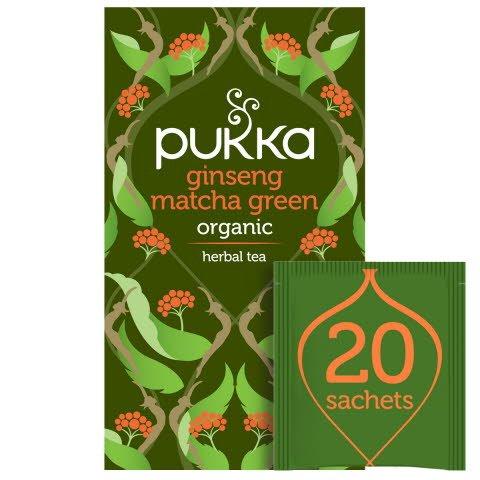 Pukka Ginseng Matcha Green ØKO 4x20 breve -