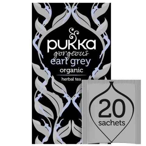 Pukka Gorgeous Earl Grey ØKO 4x20 breve -