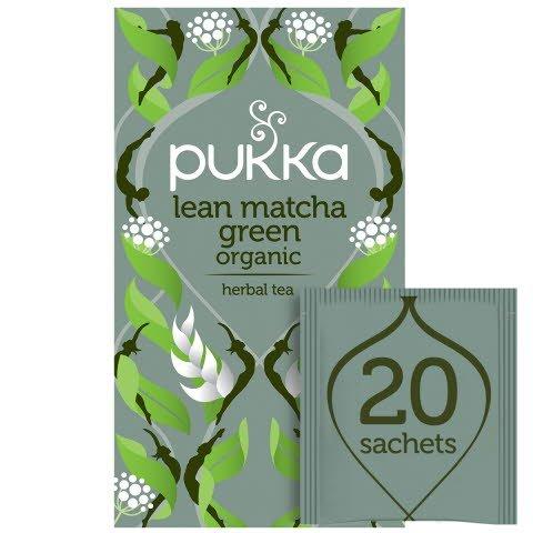 Pukka Lean Matcha Green ØKO 4x20 breve -