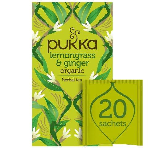 Pukka Lemongrass & Ginger ØKO 4x20 breve -