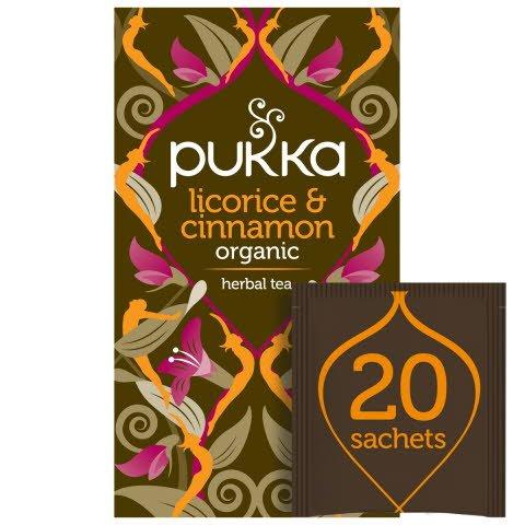 Pukka Licorice & Cinnamon ØKO 4x20 breve
