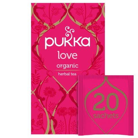 Pukka Love ØKO 4x20 breve
