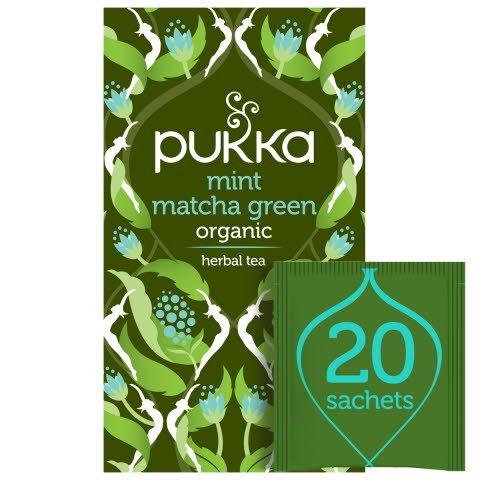 Pukka Mint Matcha Green ØKO 4x20 breve