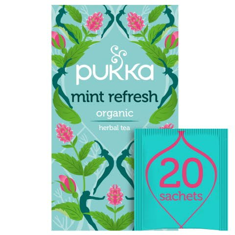 Pukka Mint Refresh ØKO 4x20 breve
