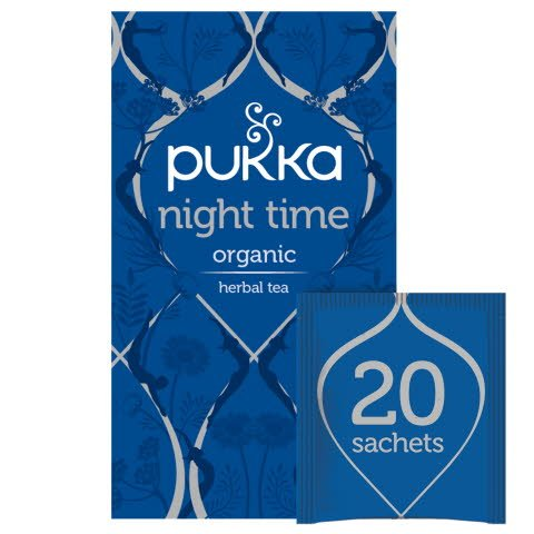 Pukka Night Time ØKO 4x20 breve