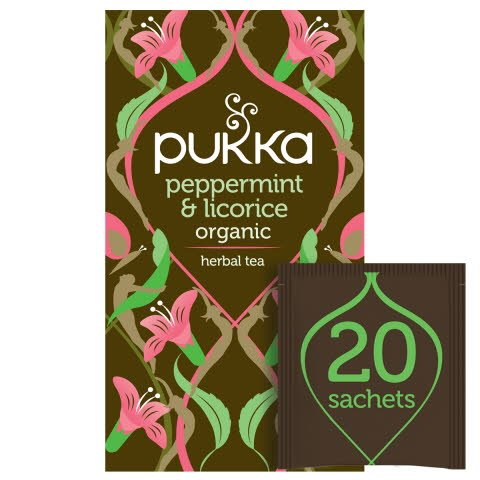 Pukka Peppermint & Licorice ØKO 4x20 breve