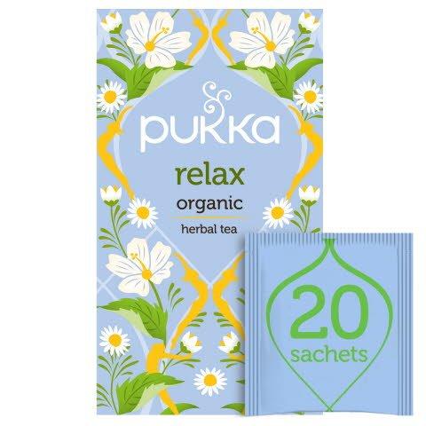 Pukka Relax ØKO 4x20 breve -