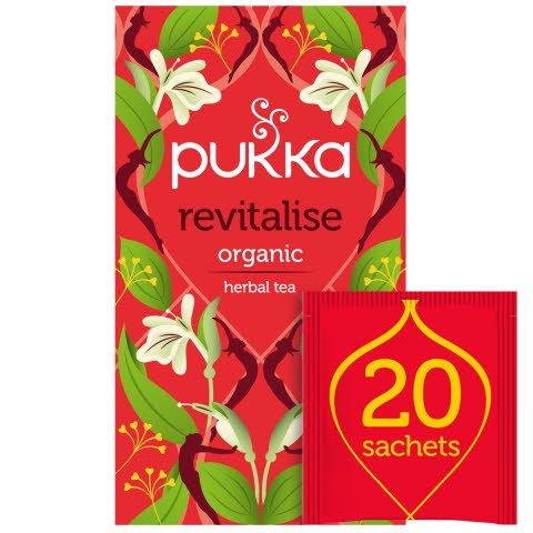 Pukka Revitalise ØKO 4x20 breve