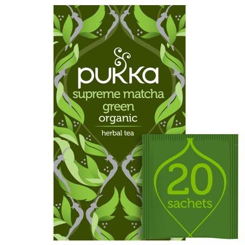 Pukka Supreme Matcha Green ØKO 4x20 breve