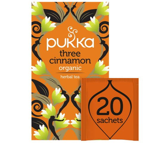Pukka Three Cinnamon ØKO 4x20 breve
