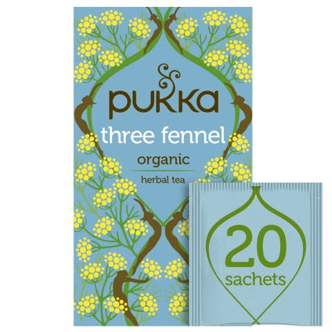 Pukka Three Fennel ØKO 4x20 breve