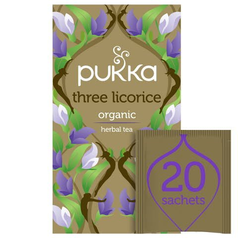 Pukka Three Licorice ØKO 4x20 breve
