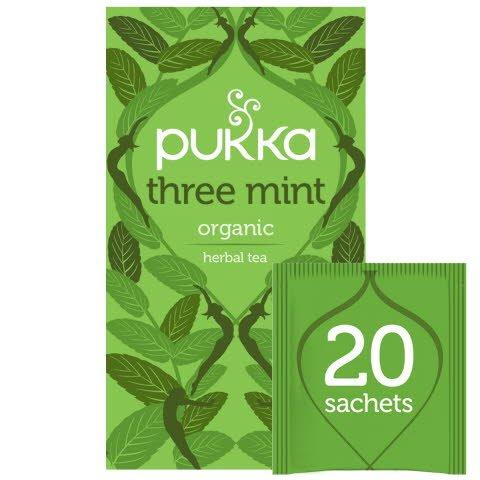 Pukka Three Mint ØKO 4x20 breve -