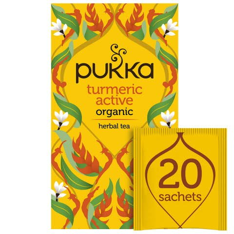 Pukka Turmeric Active ØKO 4x20 breve -