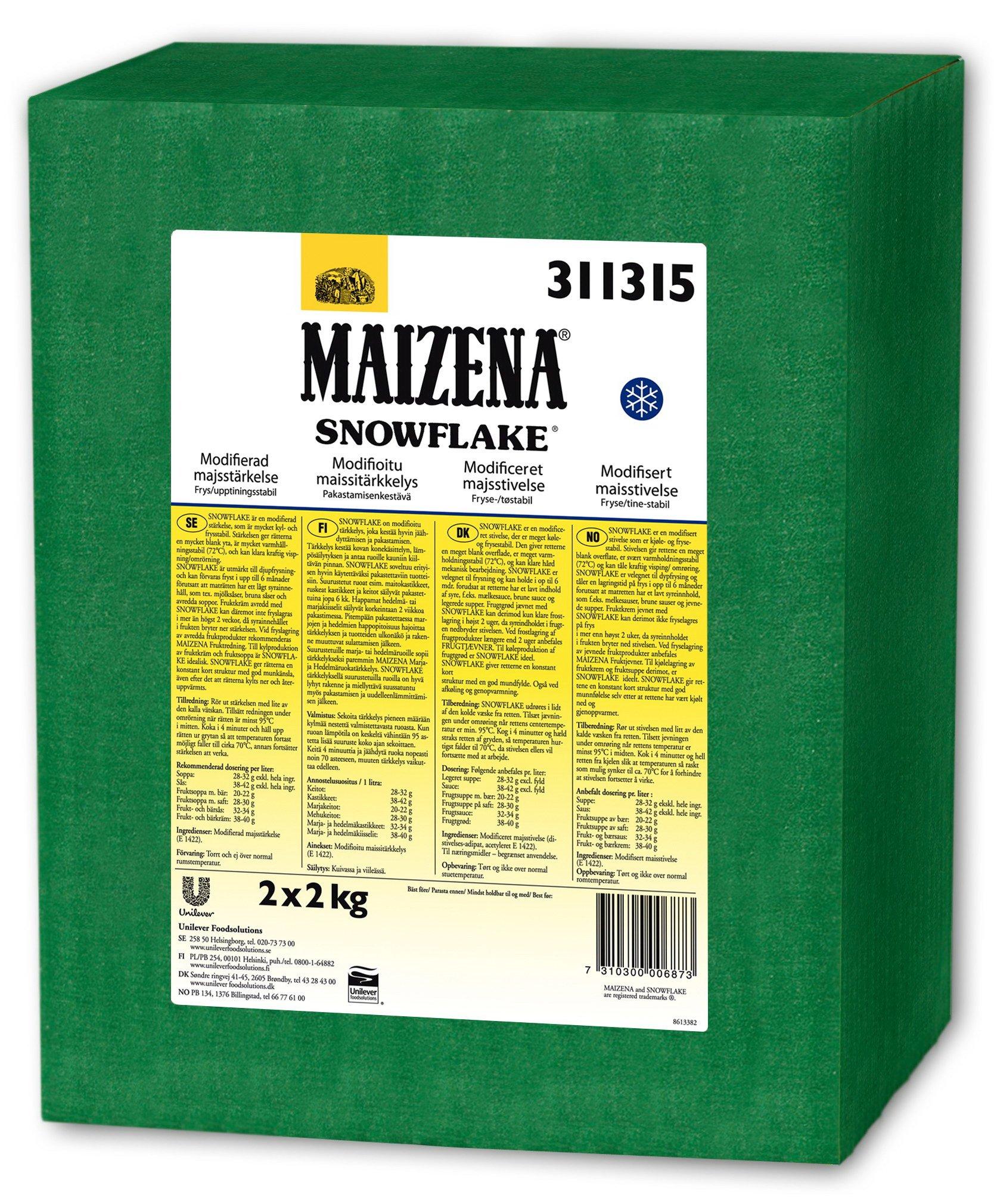 SNOWFLAKE, Modificeret stivelse 2 x 2 kg