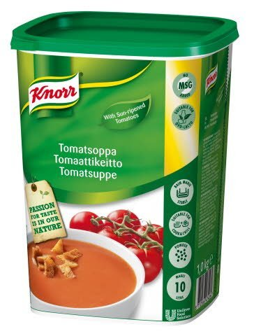 Tomatsuppe, gran, 4 kg