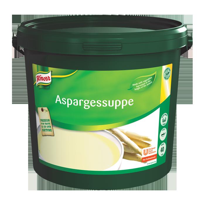 Knorr Aspargessuppe, pasta 1 x 4 KG / 40 L