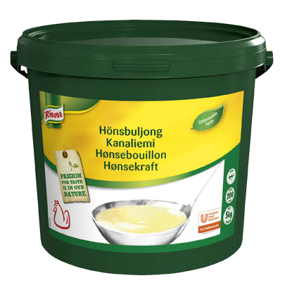 Knorr Hønsebouillon, pasta, økonomi 5 kg / 200 L