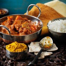 Indisk vegetarcurry