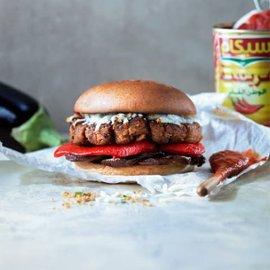 Tunesisk vegetarburger