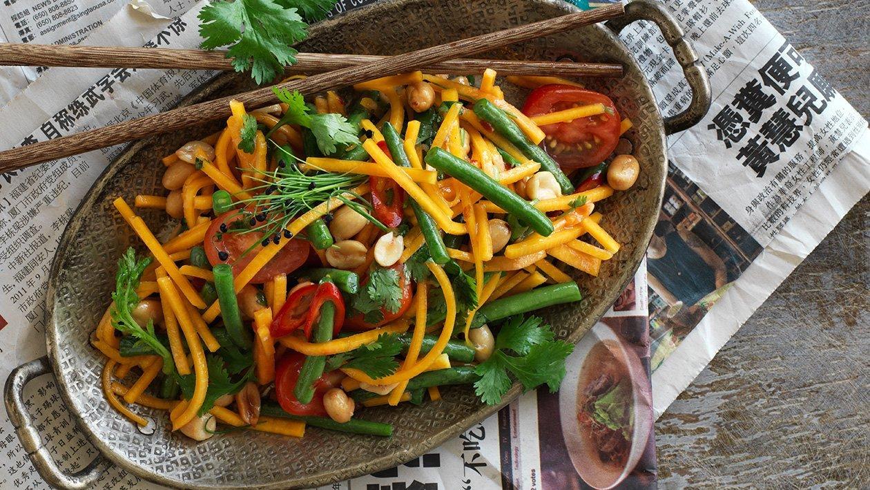 Asian papaya salat