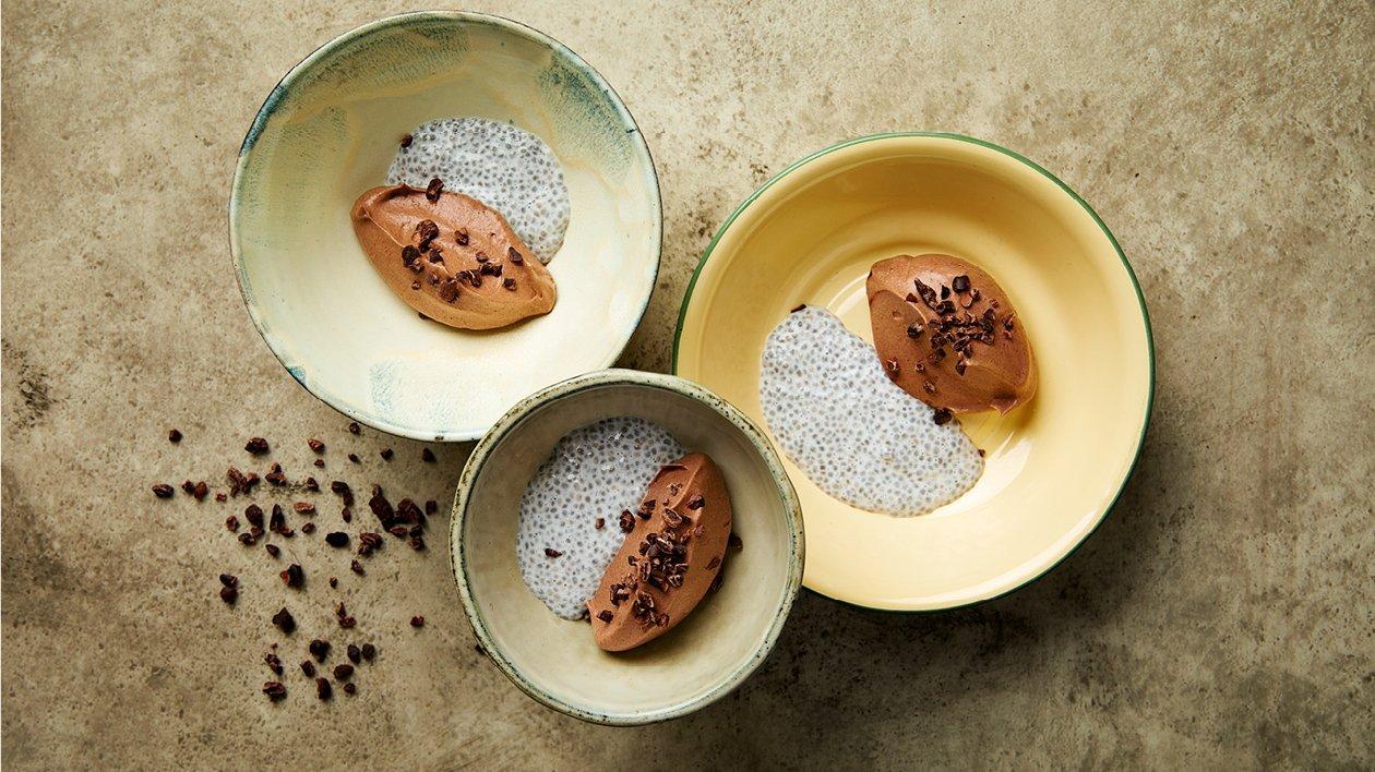 Chia-chokolademousse