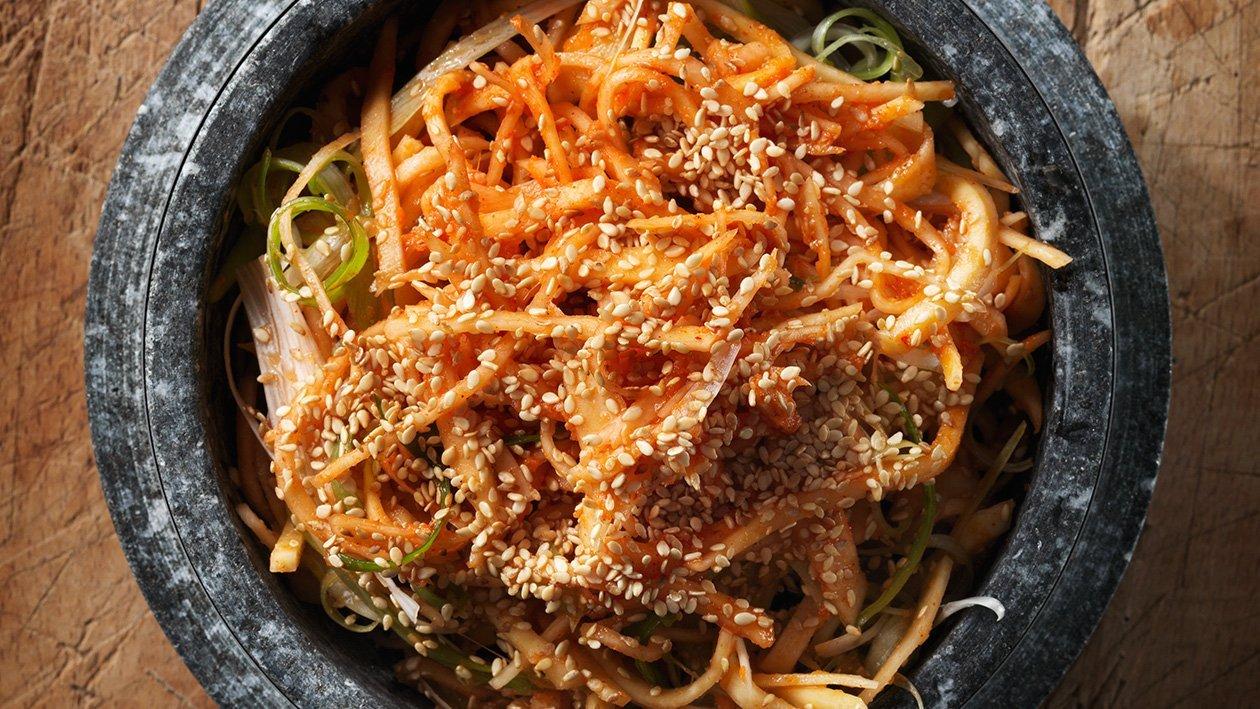 Koreansk kålroesalat