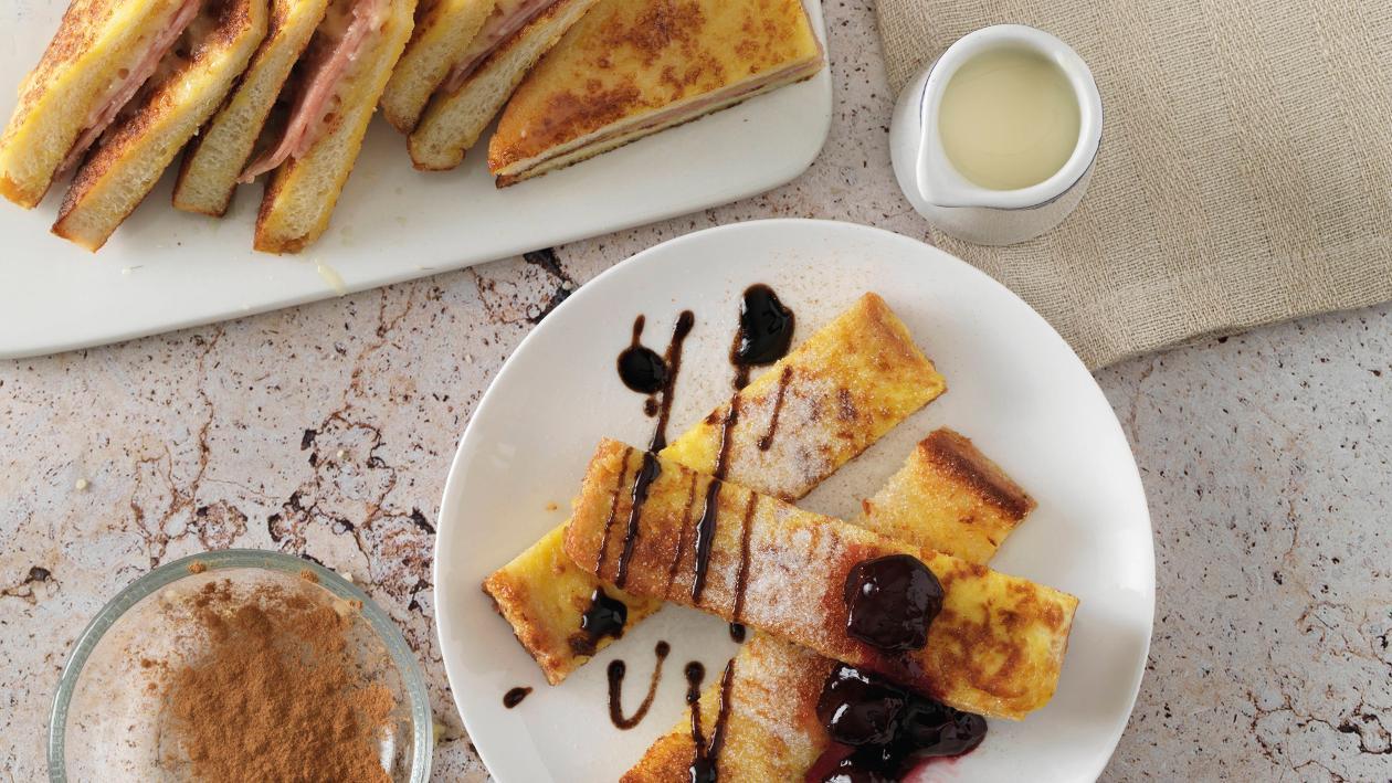 Armer Ritter/ French Toast süß und herzhaft