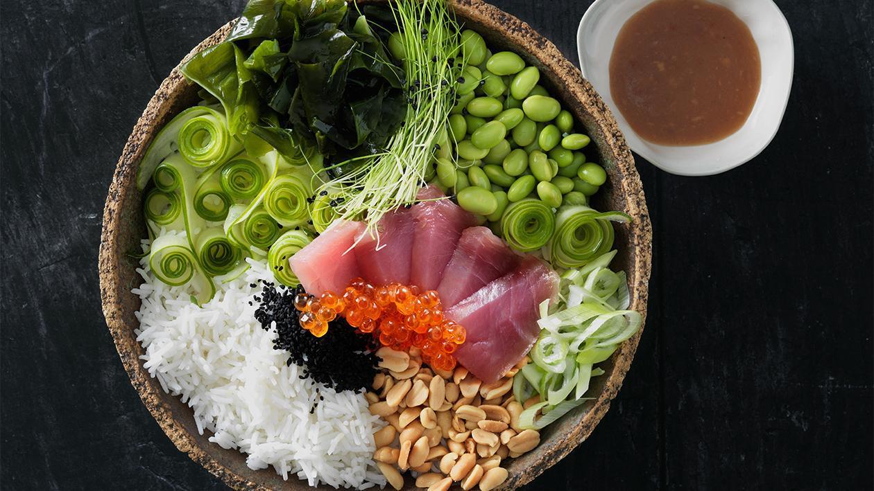 Buddha Bowl mit Tuna