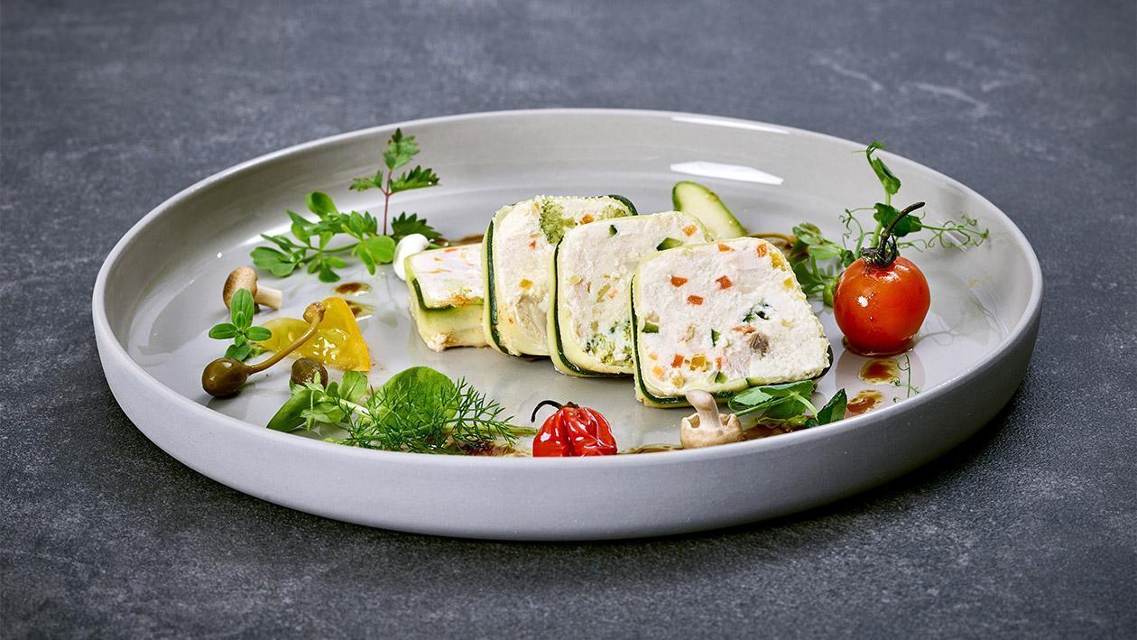 Gemüse-Huhn-Terrine