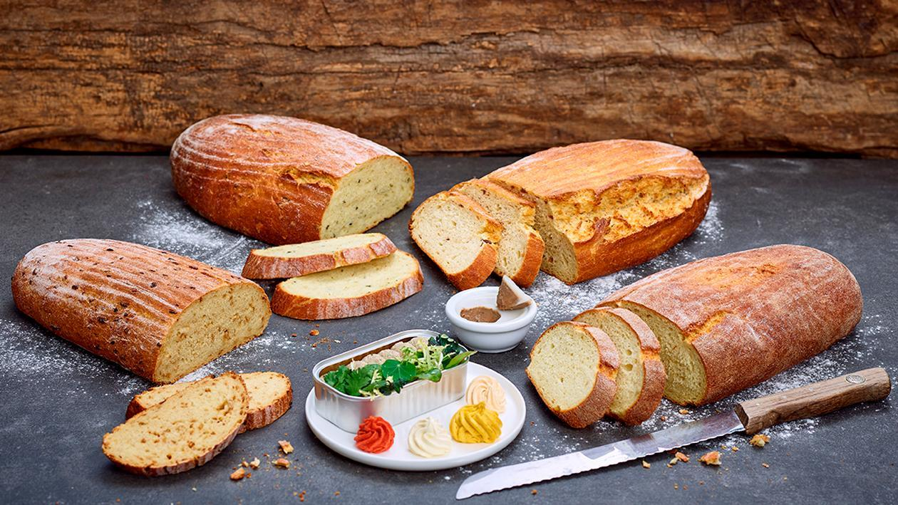 Kartoffelbrot Grundrezept