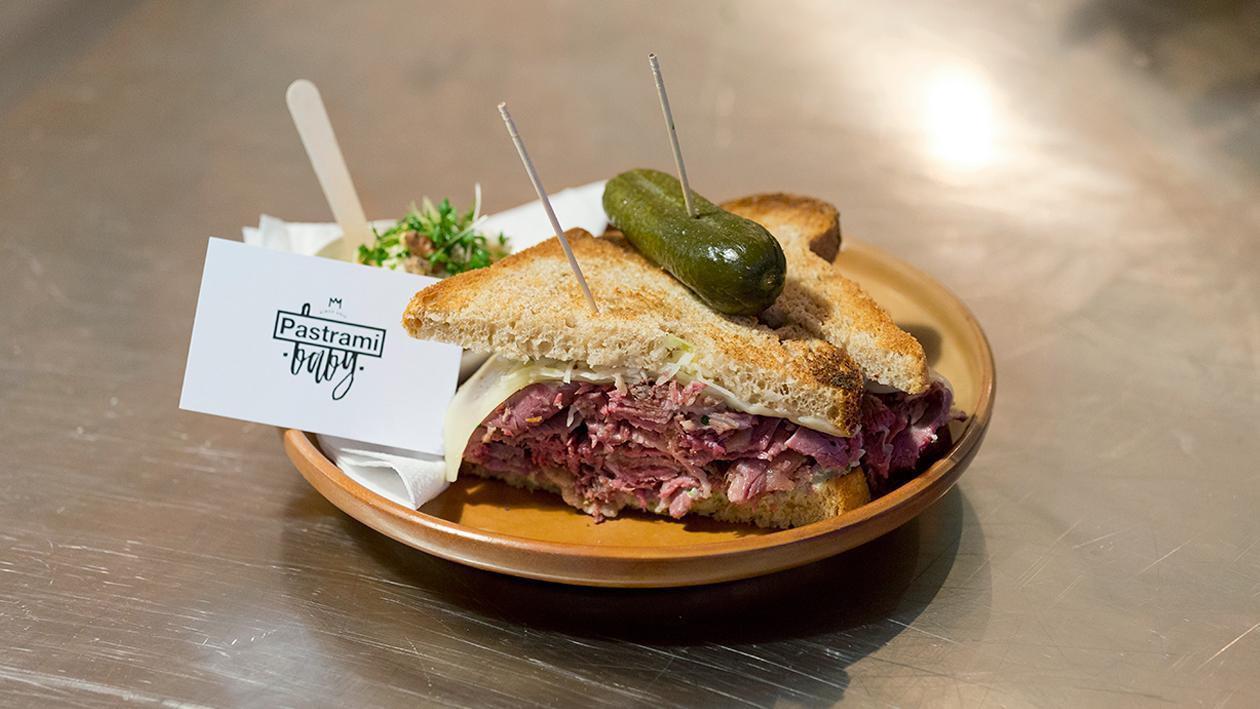 Reuben Sandwich by Pastrami Baby