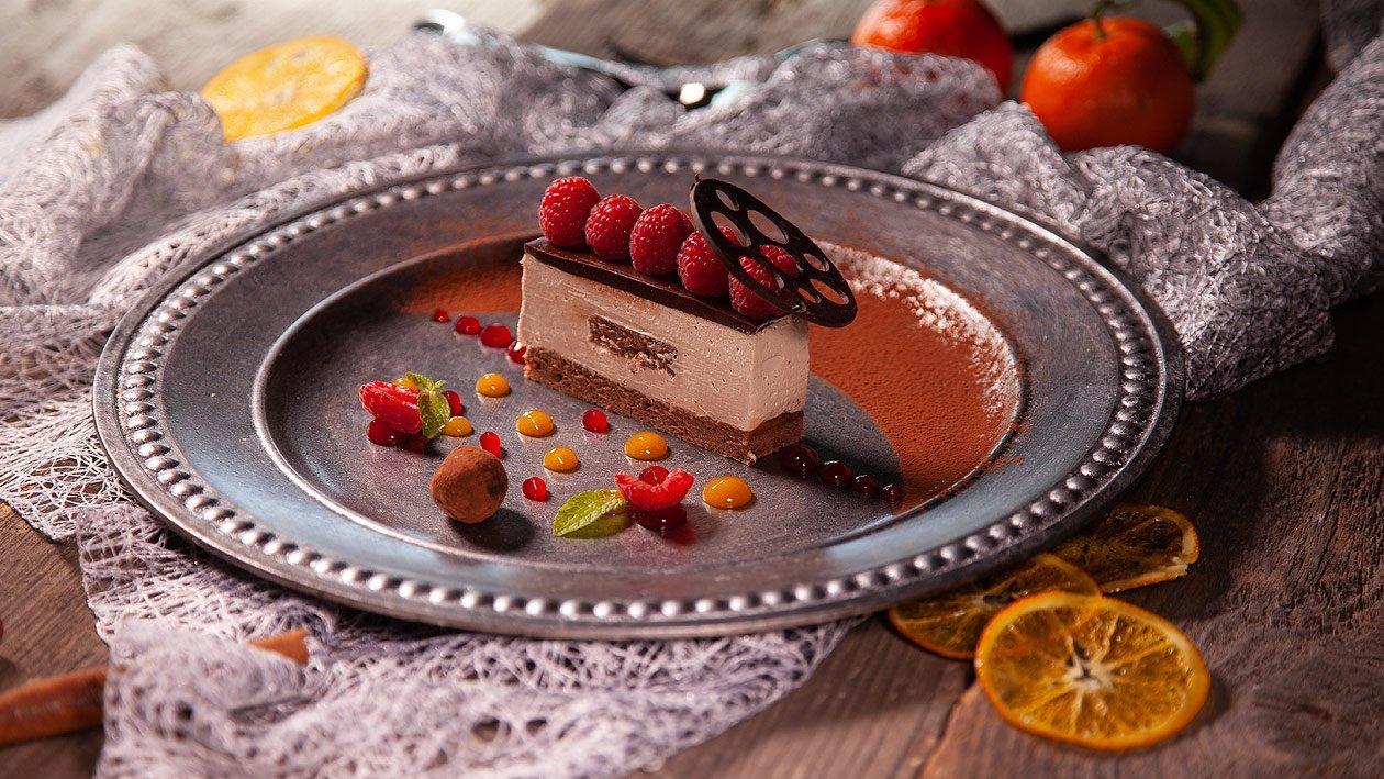 Schokolademousse - Schnitte