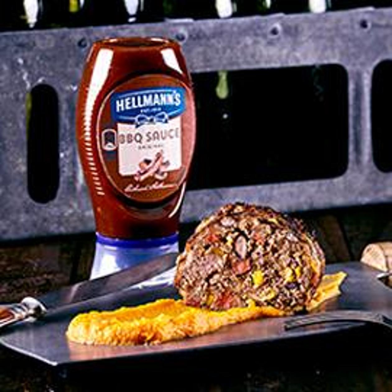 Texas Meatloaf mit Sweet Potato Mash