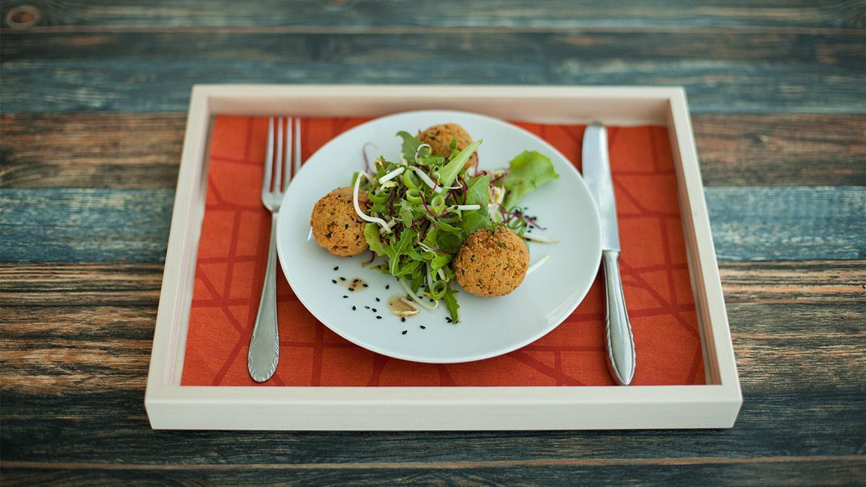 Vegane Cous Cous Falafel