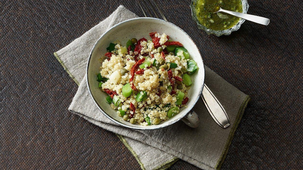 Lauch-Quinoa-Salat