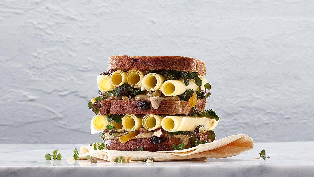 Sbrinzrollen Sandwich