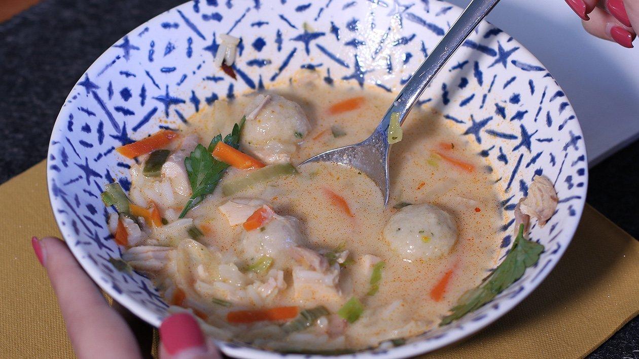 Asia Hühnereintopf mit Reis