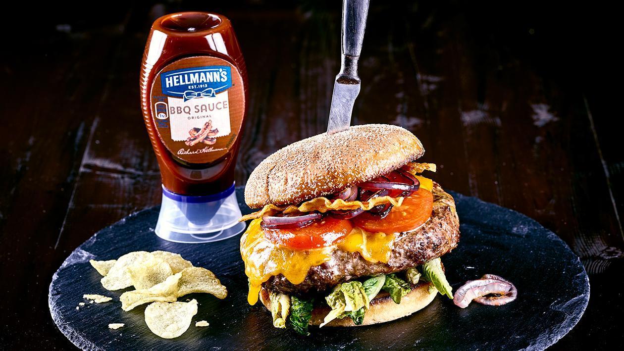 Bacon Beef Cheese Burger