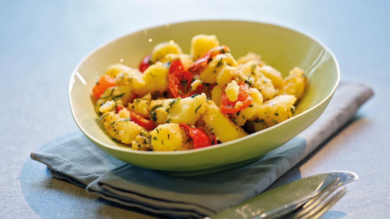 Batata Hara Kartoffelsalat auf arabische Art