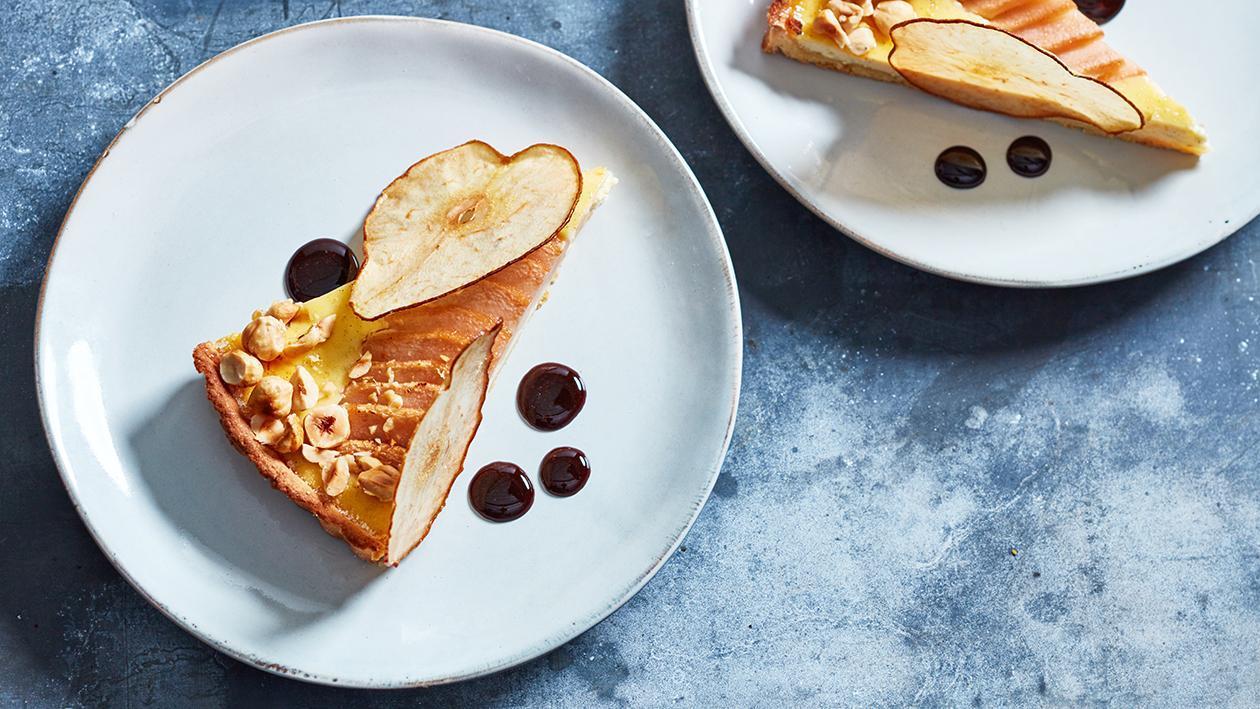 Birnen Ricotta Kuchen