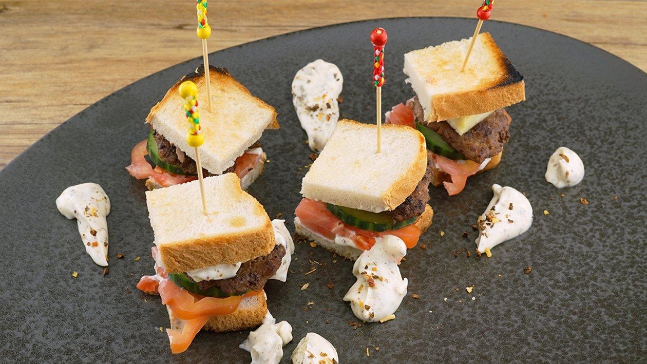 Bobotie im Sandwich
