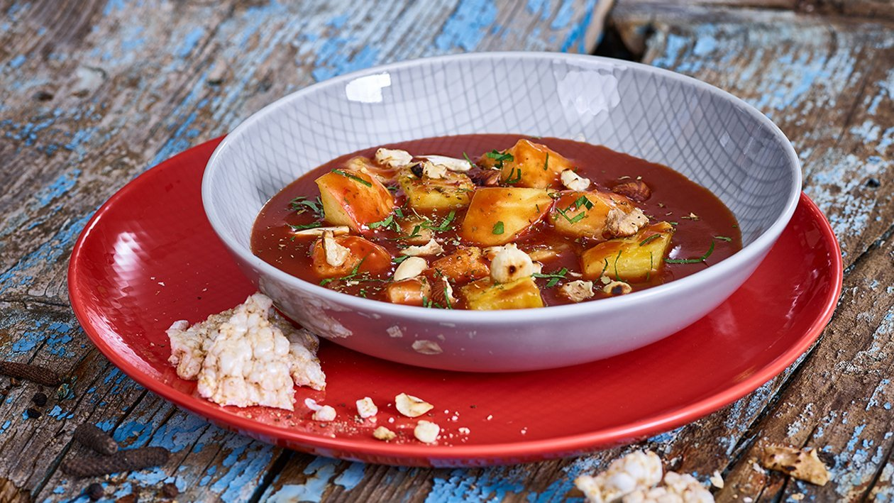 Buntes Kartoffel-Bohnen-Curry