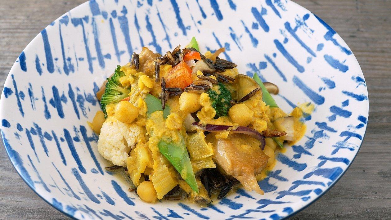Cocos-Curry mit NoChicken Chunks