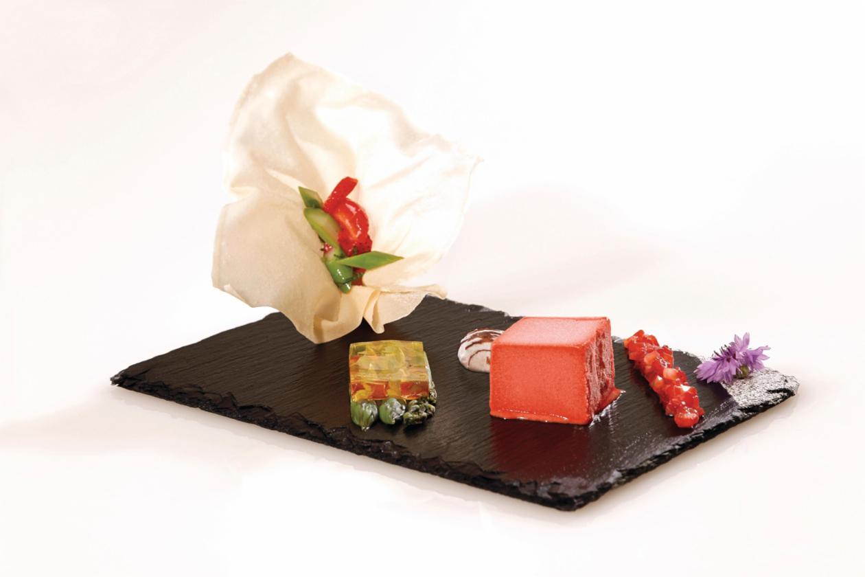 Erdbeere mit Amaretto