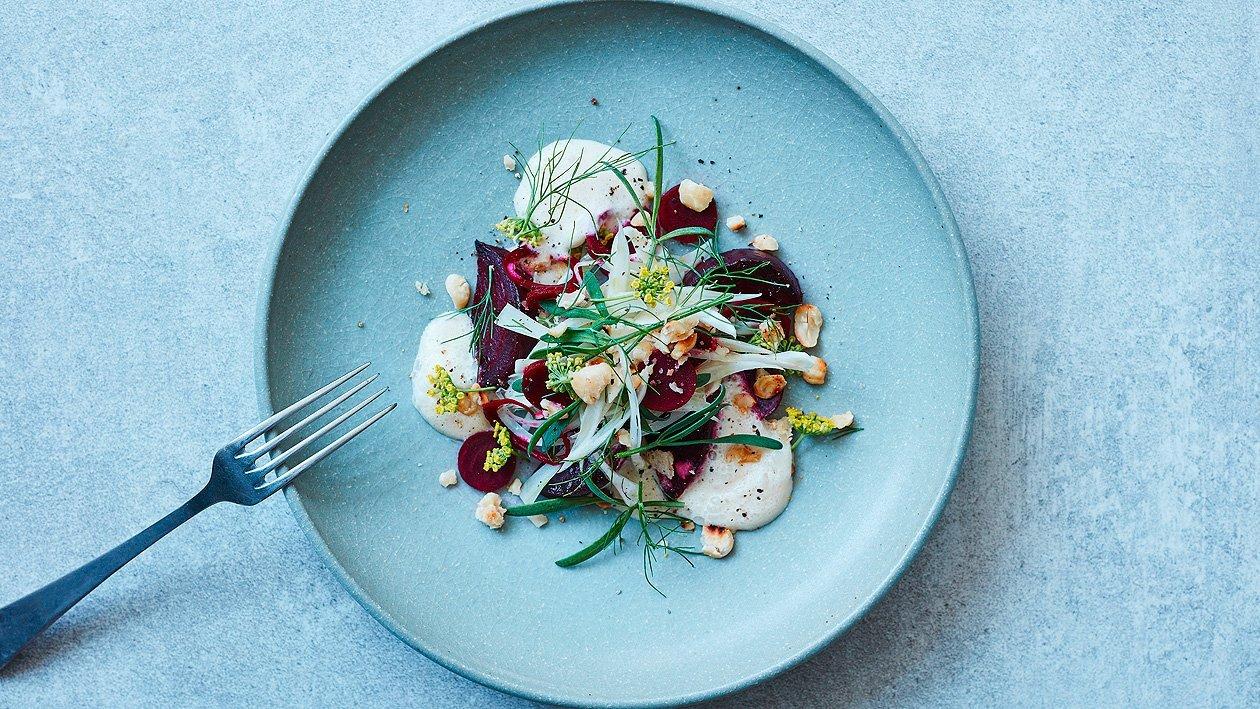 Geräucherter Rote-Bete-Salat